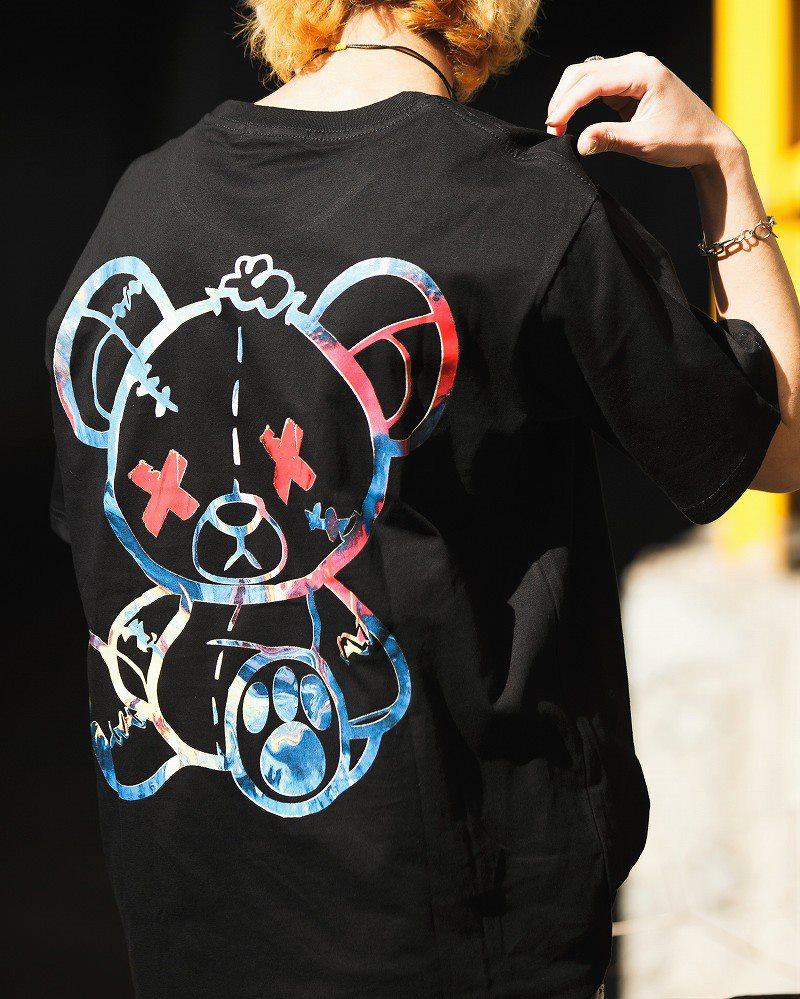 《2色》こてんぱんクマTシャツの画像5